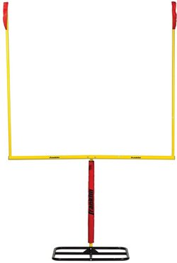 Franklin 8 ft 6 in x 5 ft 6 in Authentic Steel Football Goal Post