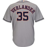 Majestic Men's Houston Astros Justin Verlander 35 COOL BASE Replica Jersey