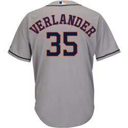 Men's Houston Astros Justin Verlander 35 COOL BASE Replica Jersey