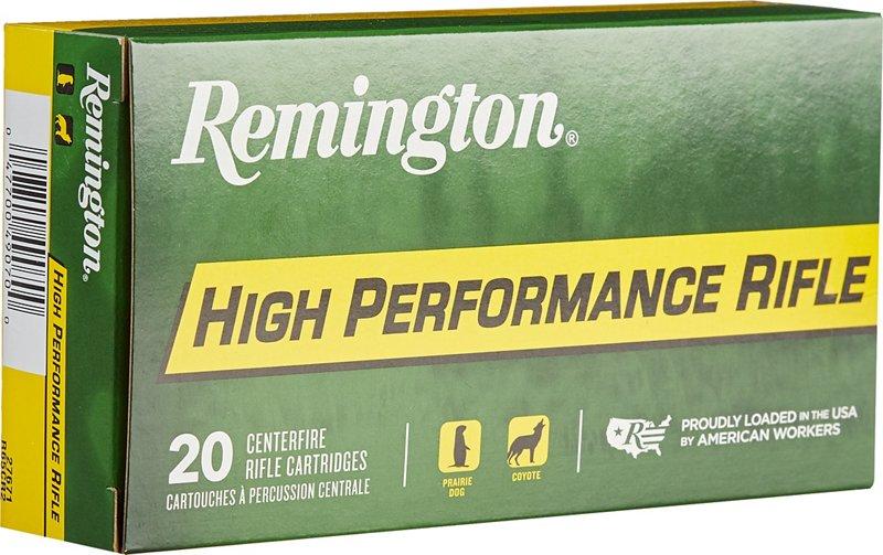 Remington High Performance 6.5 Creedmoor 140-Grain Centerfire Rifle Ammunition – Rifle Shells at Academy Sports