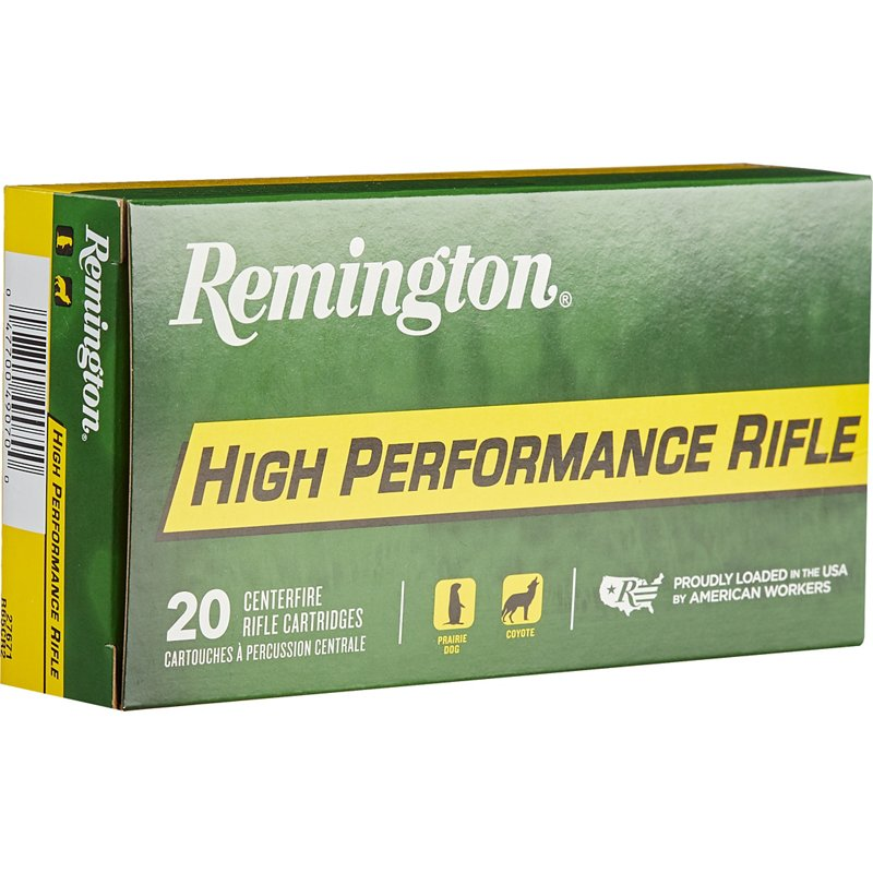 Remington High Performance 6.5 Creedmoor 140-Grain Centerfire Rifle Ammunition – Rifle Shells at Academy Sports