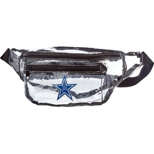 Forever Collectibles Dallas Cowboys Clear Fanny Pack