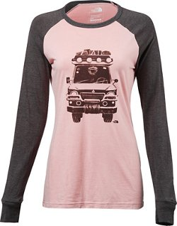 The North Face Women's Mountain Lifestyle Take To Nature Long Sleeve Tri-Blend T-shirt