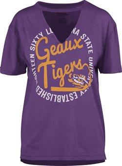 Three Squared Women's Louisiana State University Lucky Saylor T-shirt