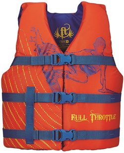 Full Throttle Kids' Character Life Vest