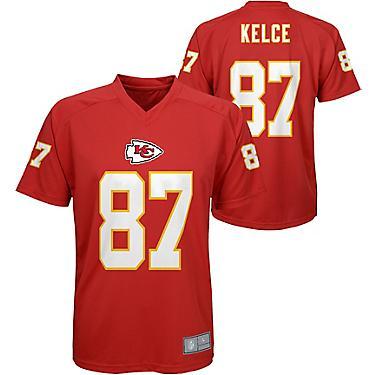 sale retailer d54ff 6ecc7 NFL Boys' Kansas City Chiefs Travis Kelce 87 V-neck T-shirt