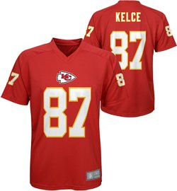 NFL Boys' Kansas City Chiefs Travis Kelce 87 V-neck T-shirt