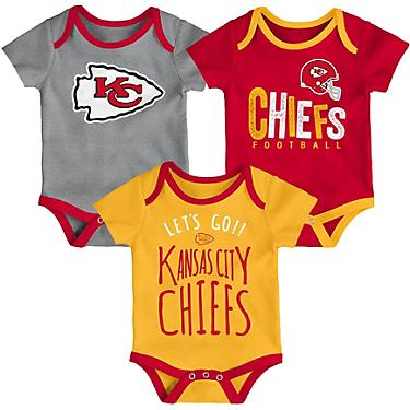 256a6dae NFL Infants' Kansas City Chiefs Little Tailgater Onesie Set