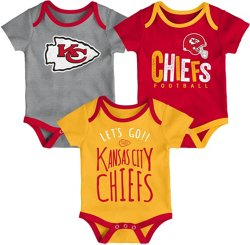 NFL Infants' Kansas City Chiefs Little Tailgater Onesie Set