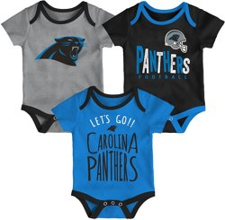 NFL Infants' Carolina Panthers Little Tailgater Onesie Set