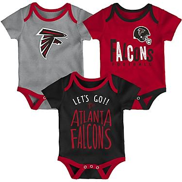 size 40 a2c3c e3343 NFL Infants' Atlanta Falcons Little Tailgater Onesie Set