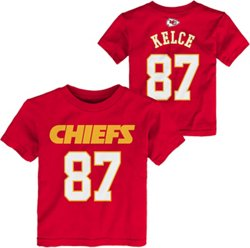 NFL Boys' Kansas City Chiefs Travis Kelce 87 Mainliner T-shirt