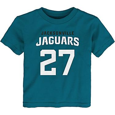 super popular 0a861 a08db NFL Toddler Boys' Jacksonville Jaguars Leonard Fournette No 27 Mainliner  T-shirt