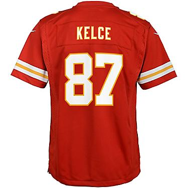 reputable site a7d46 76809 NFL Boys' Kansas City Chiefs Travis Kelce 87 Nike Game Jersey