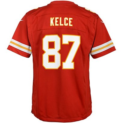 5266bda4f9d ... Travis Kelce 87 Nike Game Jersey. Kansas City Chiefs Clothing.  Hover/Click to enlarge