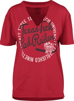 Three Squared Women's Texas Tech University Lucky Saylor T-shirt
