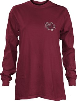 Three Squared Women's University of South Carolina Saturdays Are Booked Coastal T-shirt