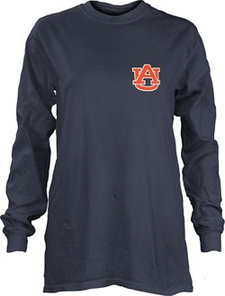 Three Squared Women's Auburn University Saturdays Are Booked Coastal T-shirt
