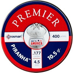 Crosman Piranha .177 Caliber 10.5-Grain Hollow-Point Air Gun Pellets