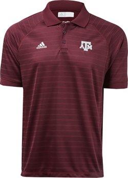 adidas Men's Texas A&M University Select Polo Shirt