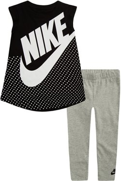 Nike Girls' Sportswear Futura Dress and Leggings Set