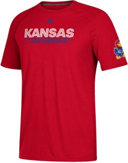 adidas Men's Ultimate Lined Up University of Kansas T-shirt