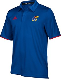 adidas Men's climalite University of Kansas Team Iconic Polo