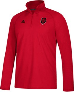 adidas Men's climalite Ultimate Arkansas State University 1/4 Zip Top