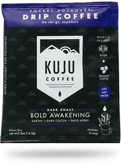 Kuju Coffee Bold Awakening 1-Cup Pouches 10-Pack