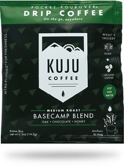 Kuju Coffee Basecamp Blend 1-Cup Pouches 10-Pack