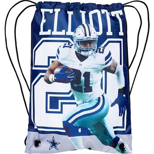 Forever Collectibles Dallas Cowboys Ezekiel Elliott 21 Drawstring Backpack