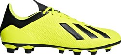 adidas Men's X 18.4 Flexible Ground Soccer Cleats