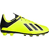 adidas Boys' X 18.4 Flexible Ground Soccer Cleats