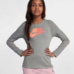 Nike Girls' Split Futura T-shirt