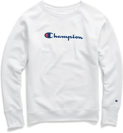 Champion Women's Powerblend Fleece Boyfriend Classic T-shirt