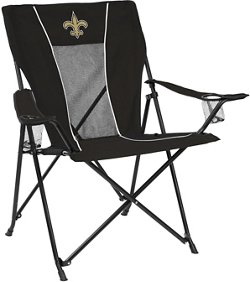 Logo New Orleans Saints Gametime Folding Chair