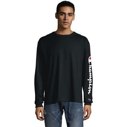 fac3ee1723d ... Champion Men s Classic Jersey Long Sleeve T-shirt. Men s Shirts. Hover  Click to enlarge