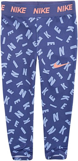 Nike Toddler Girls' Dri-FIT Sport Essentials Printed Capri Leggings