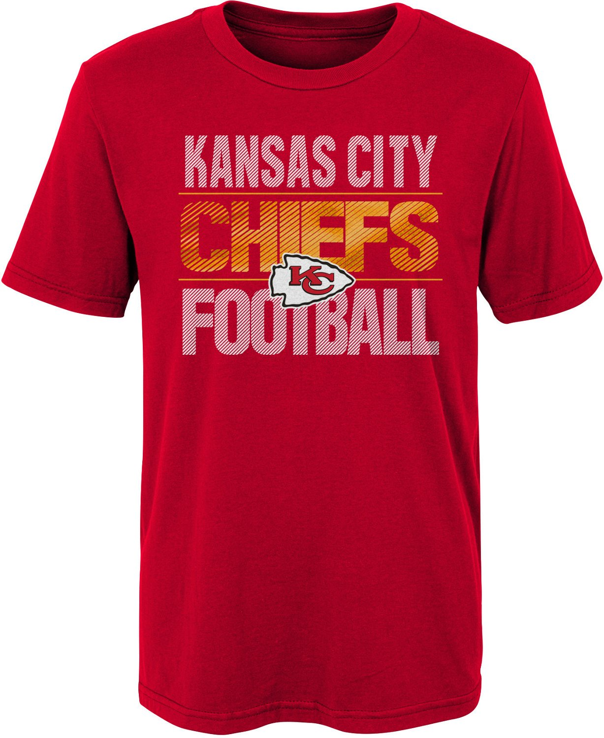 NFL Boys' Kansas City Chiefs Game Time T shirt | Academy  for sale