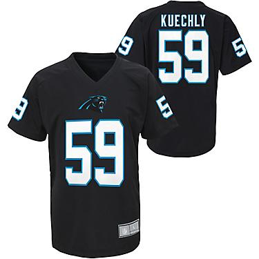 check out 59360 cc578 NFL Boys' Carolina Panthers Luke Kuechly 59 V-neck T-shirt