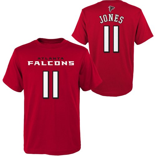 NFL Boys' Atlanta Falcons Julio Jones 11 Mainliner T-shirt