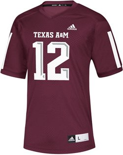 adidas Men's Texas A&M University Replica Jersey
