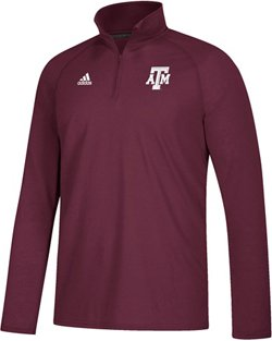 adidas Men's climalite Ultimate Texas A&M University 1/4 Zip Top