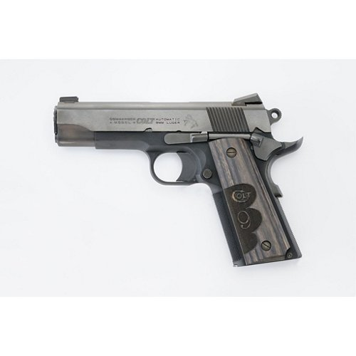 Colt Wiley Clapp Commander 9mm Pistol