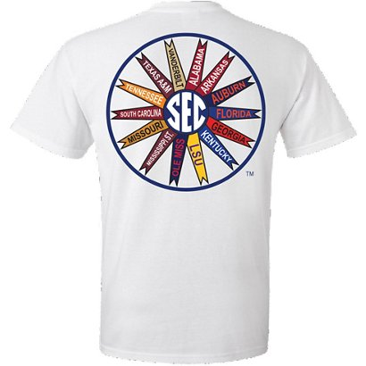 44c3acc7 New World Graphics Men's University of Florida SEC Pinwheel Pocket T ...
