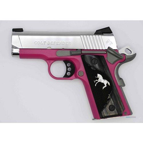 Colt Defender 9mm Pistol