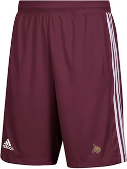 adidas Men's 3-Stripes Texas State University Knit Shorts