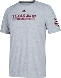 adidas Men's Ultimate Lined Up Texas A&M University T-shirt