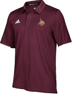 adidas Men's Texas State University Iconic Polo Shirt