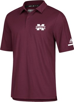 adidas Men's climalite Mississippi State University Team Iconic Coaches' Polo
